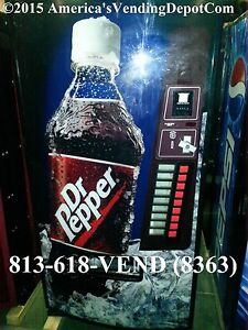 Dixie Narco 501e 9 Select Multi Price Cans bottles Dr Pepper Mdb dex 41
