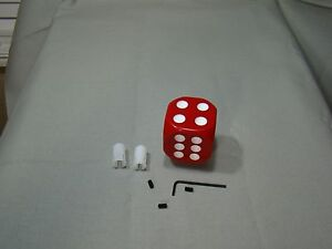 Red Dice Shifter Handle Shifter Lever Dice Shifter Knob Custom Shifter Knob