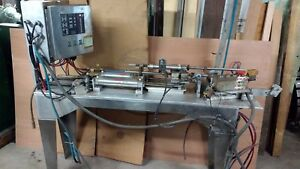 Kuhnke Piston Filler Kaux control 61 002 Frame Controls With 2 Cylinders