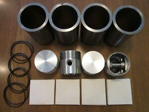 Case S Sc Si So Tractor Sleeve Piston Kit Serial 8027115 After