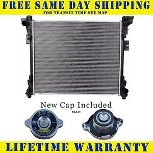 Radiator With Cap For Dodge Chrysler Fits Caravan Town Country 13062wc