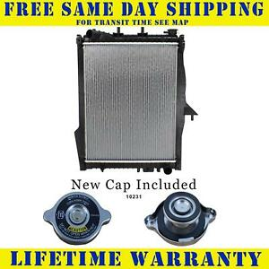Radiator With Cap For Dodge Chrysler Fits Durango Aspen 3 7 4 7 5 7 8cyl 2739wc