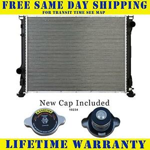 Radiator With Cap For Chrysler Dodge Fits 300 Challenger Charger 8cyl 13157wc