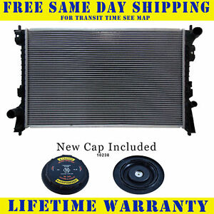 Radiator With Cap For Ford Lincoln Fits Edge Mks Mkx Taurus X 3 5 3 7 2936wc