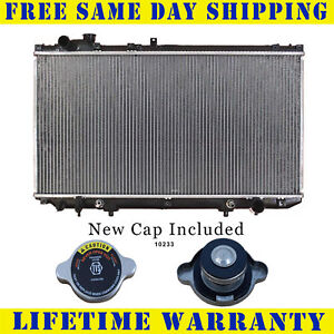 Radiator With Cap For Lexus Fits Gs300 Gs400 3 0 4 0 V6 6cyl V8 8cyl 2222wc