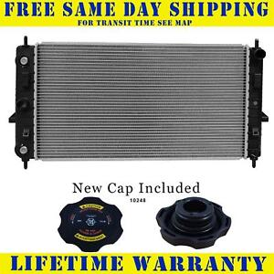 Radiator With Cap For Chevy Saturn Fits Ion Cobalt Ss 2 0 L4 4cyl 13042wc