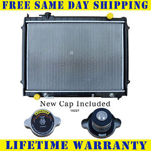 Radiator With Cap For Toyota Fits Tacoma 2 4 2 7 3 4 For 2wd Only 1778wc