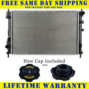 Radiator With Cap For Saturn Fits Vue 2 2 3 0 L4 4cyl V6 6cyl 2462wc