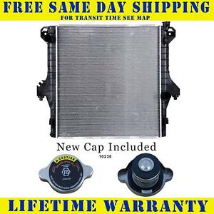 Radiator With Cap For Dodge Fits Ram 2500 3500 5 9 6 7 Diesel 2711wc