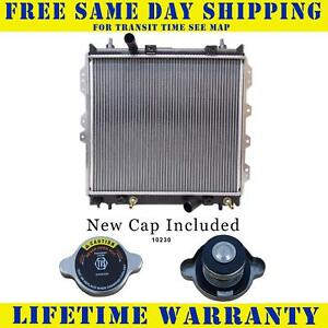 Radiator With Cap For Chrysler Fits Pt Cruiser 2 4 L4 4cyl 2677wc