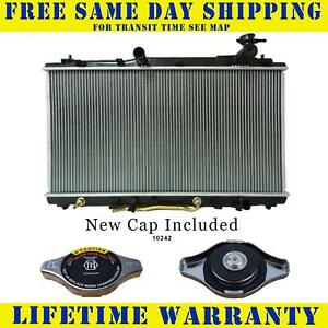 Radiator With Cap For Toyota Fits Avalon Camry 3 5 V6 6cyl 2817wc