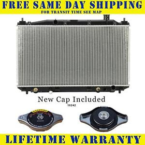 Radiator With Cap For Honda Fits Civic Hybrid 1 3 L4 4cyl 2572wc