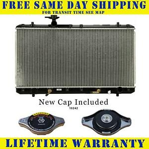 Radiator With Cap For Suzuki Fits Aerio 2 0 2 3 L4 4cyl 2451wc