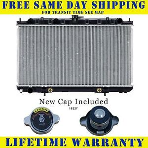 Radiator With Cap For Nissan Fits Sentra 2 0 L4 4cyl 2328wc