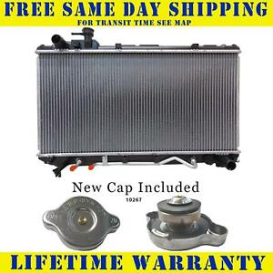 Radiator With Cap For Toyota Fits Rav4 2 0 L4 4cyl 1859wc