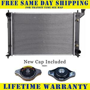 Radiator With Cap For Scion Fits Tc 2 4 L4 4cyl 2776wc