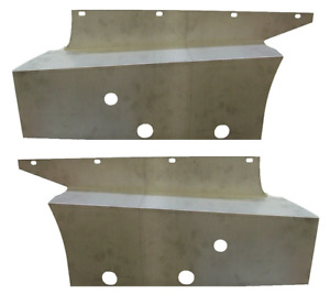 Chevrolet Chevy Pickup Truck Running Board Side Splash Apron Set 1934 1936