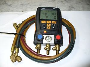 Testo 550 Digital Hvac Manifold With 3 Jb Hoses