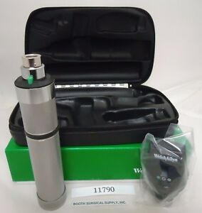 Welch Allyn Ophthalmic Set 11790 Autostep Coaxial Ophthalmoscope Ni cad Handle