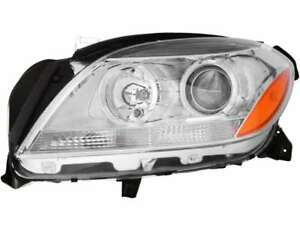 Halogen Headlight Assembly Left Driver Side For 12 14 Mercedes Ml350 Ml500 Ml63