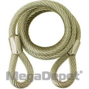 Abus 00046 6 Standard Steel Cable 7 16 Diameter