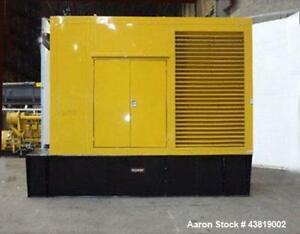 Unused tramount Weather Enclosure Designed For Caterpillar C 15 500 Kw Generator