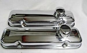 1967 70 Pontiac Firebird 400 Chrome Valve Covers Aftermarket