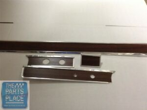 1965 66 Chevrolet Impala Dash Fascia Without A c 4 Piece Woodgrain