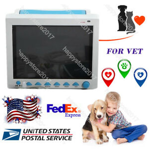 Fda Veterinary Vital Signs Patient Monitor 6 Parameters Cms8000 vet Animal Use
