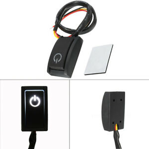 Turn On Off Switch Led Light Rv Truck Dc12v 200ma Car Push Button Latching