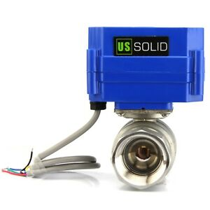 Motorized Ball Valve 1 Stainless Steel Electrical Ball Valve 9 24v 5 Wire