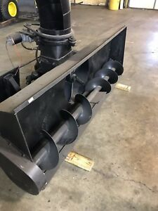 7ft Snowblower Attachment For Skid Steer