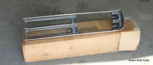 Nos New In The Box Mopar 1971 Plymouth Sport Fury Gt Left Grille Assembly