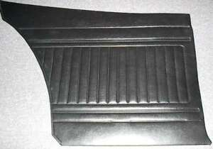 Nos Oem Mopar 1973 74 Plymouth Duster Dodge Dart Sport Black Door Trim Panel Lh