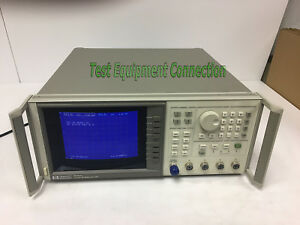 Agilent 8757d 001 002 Scalar Network Analyzer