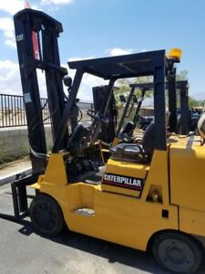 Catepillar Model Gc40k Forklift Price Reduced To Sell