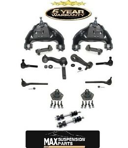 99 05 S10 Blazer Pick Up 4x4 Up Control Arms Ball Joints Outer Tie Rod Ends 14pc