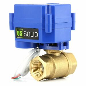 Motorized Ball Valve 3 4 Brass Electrical Ball Valve 2 Wire Reverse Polarity