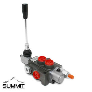 1 Spool Hydraulic Directional Control Valve Double Acting 11 Gpm Sae Ports