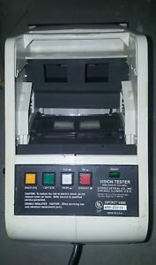 Optec 2300 Stereo Optical Company Vision Tester For Parts