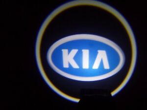 2x Wireless Car Door Led Projector Logo Ghost Shadow Light For Kia