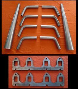 Ford Fe 332 352 361 390 Exhaust Lake Header Kit Lakster U weld Hot Rat Rod