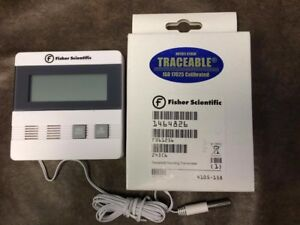 4 Fisher Scientific Traceable Thermometer 14 648 26