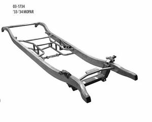 Chrysler Dodge Plymouth Mopar Steel Car Frame 33 34 1933 1934