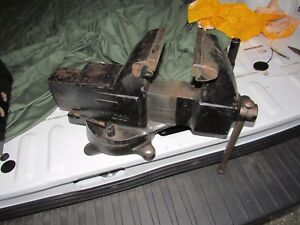Very Nice Columbian 605 m3 Machinist Vise 5 Jaws Great Shape Needs Some Work