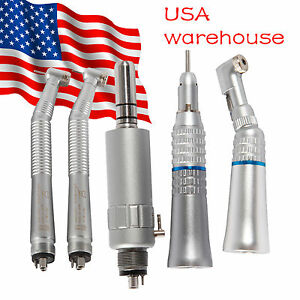Dental Nsk Style Pana Max High Low Speed Handpiece Turbine Kit 4 Hole Pru
