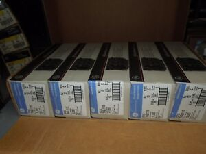 Ge Thql1115 15a 1p 120v Plug In Circuit Breaker box Of 50 New Surplus In Box
