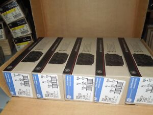 Ge Thql2130 30a 2p 240v Plug In Circuit Breaker box Of 25 New Surplus In Box