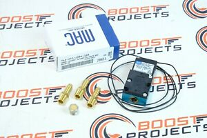 Mac 4 Port 5 4w Electronic Boost Control Solenoid Valve Barbed Brass Fittings