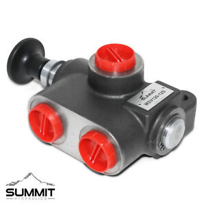 Manual Hydraulic Selector Valve 3 way 2 Position 31 Gpm 12 Sae Ports